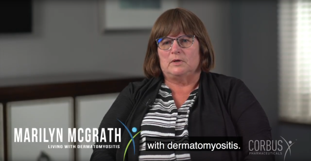 Marilyn shares what she thinks are the major challenges of living with dermatomyositis.