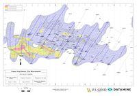 Datamine CK Gold Project Zinc isoshell