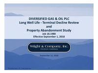 Wright & Company Well Life Study