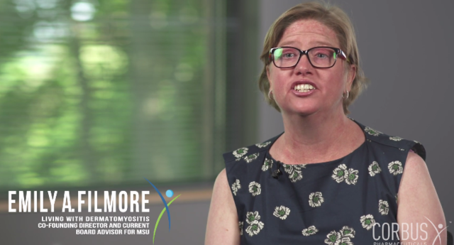 Emily, living with dermatomyositis, discusses her symptoms and her long roads to diagnosis.