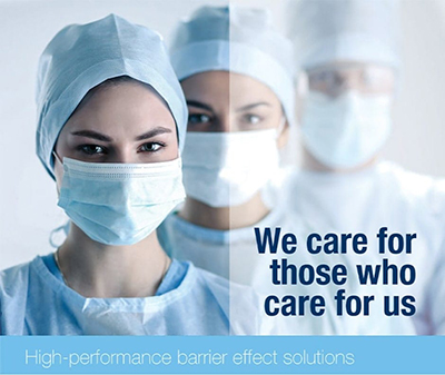 High Performing Formulations for Protective Masks and Suits