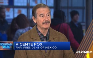 Former Mexico President Fox on the new trade deal, cannabis and border wall thumbnail