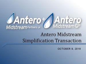 Simplification Announcement