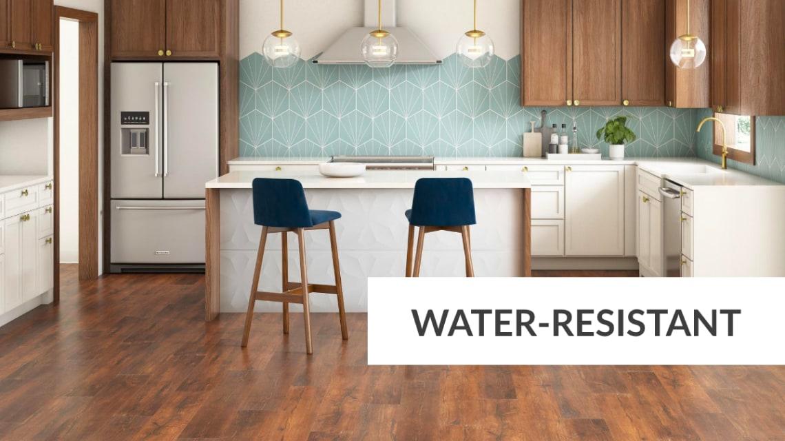 Water-Resistant (Laminate)