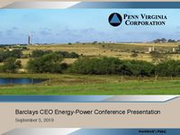 Barclays CEO Energy-Power Conference Presentation