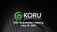 2021 Annual Meeting of Shareholders Presentation