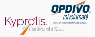 Kyprolis + Opdivo