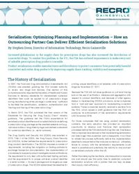 Serialization: Optimizing, Planning and Implementation