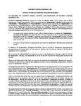 iAnthus - Notice of Meeting - Equityholders