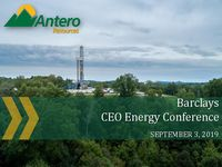 2019 Barclays CEO Energy Conference