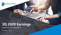 Q3 2020 Earnings Supplemental Presentation