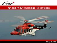 2018 Q4 and Full Year Earnings Presentation