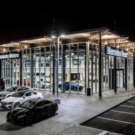 Mercedes Autobahn