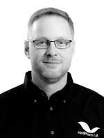 Headshot of Darren Parker, Director, Health and Safety for Medipharm Labs