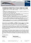 Commenced Permitting at Buck Creek No. 2 Mine