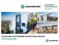 James Hardie 2019 North America Investor Presentations