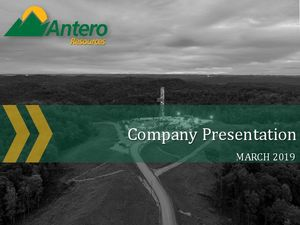 March Company Presentation