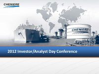 2012 Investor/Analyst Day Conference