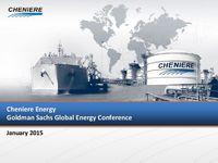 Goldman Sachs Global Energy Conference Presentation