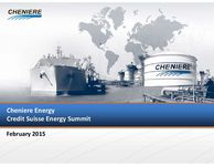 Credit Suisse Energy Summit Presentation