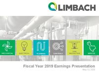 Fourth Quarter 2019 Earnings Call Presentation