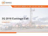 Q3 2018 Earnings Release Presentation