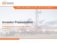 Capital One Securities 13th Annual Energy Conference Presentation