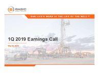 Q1 2019 Earnings Release Presentation
