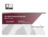 Q4 2020 Financial Results Presentation