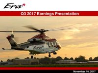 2017 Q3 Earnings Presentation