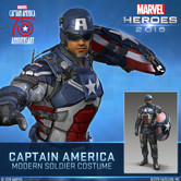 Captain America: Civil War Comes To Marvel Heroes