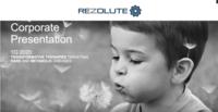 Webcast: Rezolute's Keith Vendola Presents Rezolute in San Francisco at Biotech Showcase, January 13, 2020