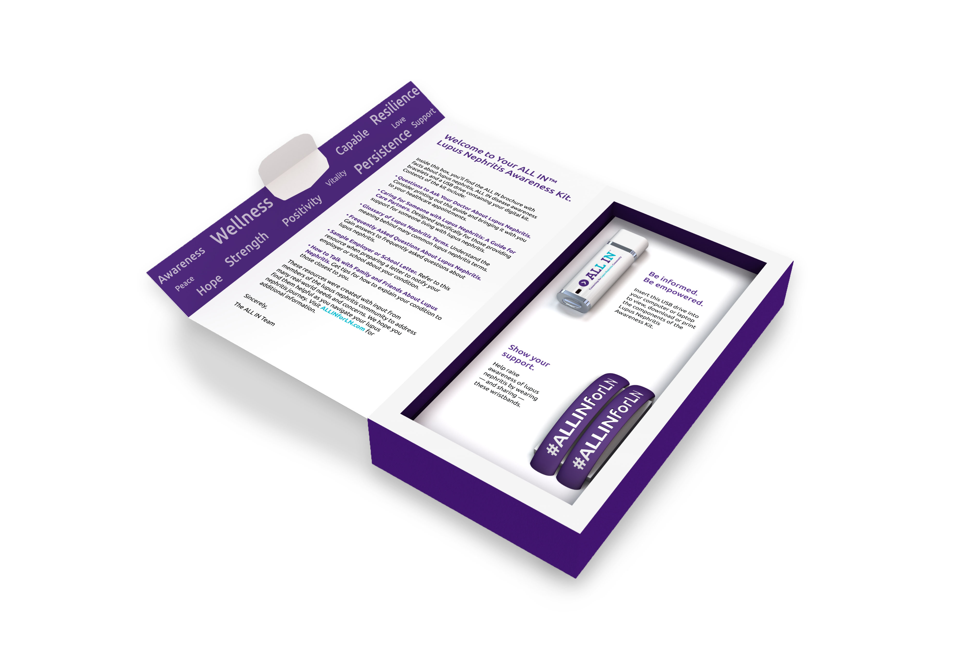 Be informed and empowered with the ALL IN™ Lupus Nephritis Awareness Resource Kit.