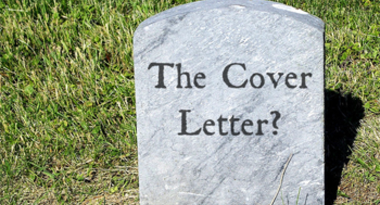 Is It Time to Bury the Cover Letter?