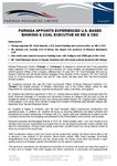 Paringa Appoints Experienced U.S. Based Banking & Coal Executive as MD & CEO