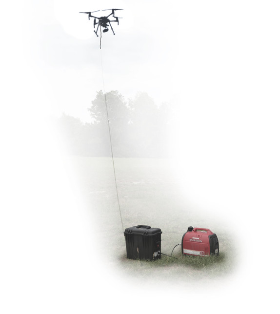 FUSE Tether System: Tether Kit for Unlimited Flight Time
