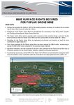 Mine Surface Rights Secured For Poplar Grove Mine