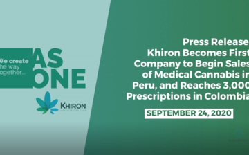 Khiron Becomes First Company to Begin Sales of Medical Cannabis in Peru, and Reaches 3K Prescriptions in Colombia thumbnail