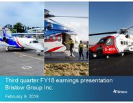 Earnings Presentation Q3 FY18