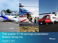 Earnings Presentation Q1 FY18