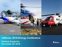 Jefferies 2016 Energy Conference Presentation