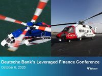 Deutsche Bank's Leveraged Finance Conference