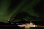 Time-lapse of the Aurora Borealis at the Hammerfest Airport