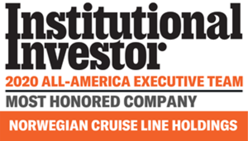 Norwegian Cruise Line Holdings Ltd. Sweeps Executive Leadership Categories in 2020 Institutional Investor All-America Executive Team Leisure Sector Rankings