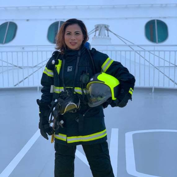 Bernadine Vallejos-Gonzaga, Fire'woman', Norwegian Escape