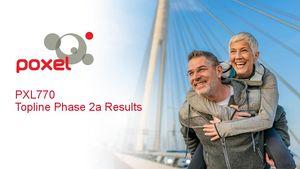 Présentation des résultats de Phase IIa du PXL770