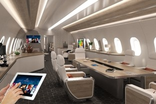Astronics PGA Solutions Selected by AMAC Aerospace for VIP Jet Completion Program