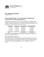 2013 Dividend Tax Treatment