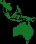 Asia and Australia