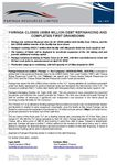 Paringa closes US$56 million debt facility